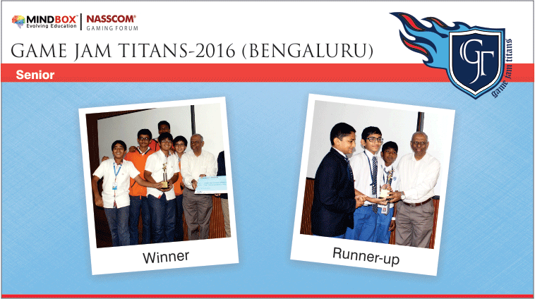 GJT-2016 Winners Bengaluru