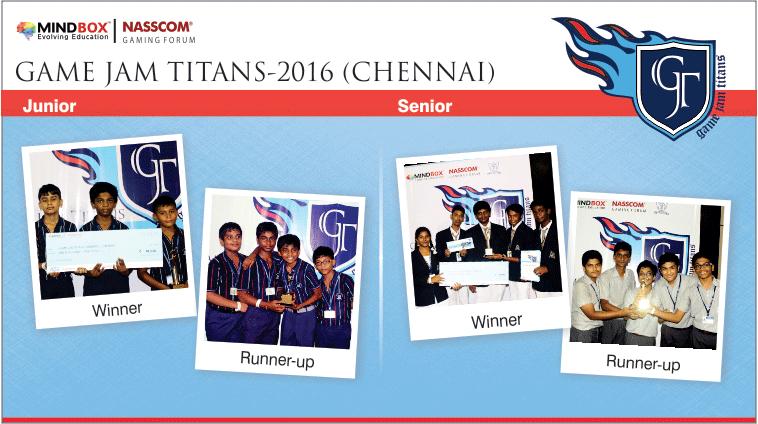 GJT-2016 Winners Chennai