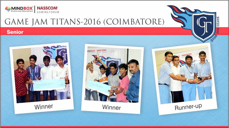 GJT-2016 Winners Coimbatore