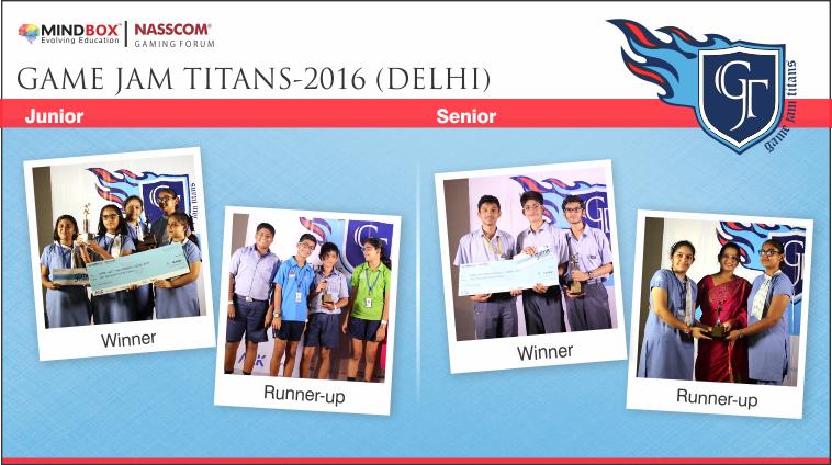 GJT-2016 Winners Delhi
