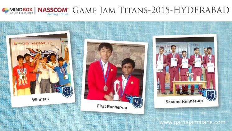 GJT-2015 Winners Hyderabad