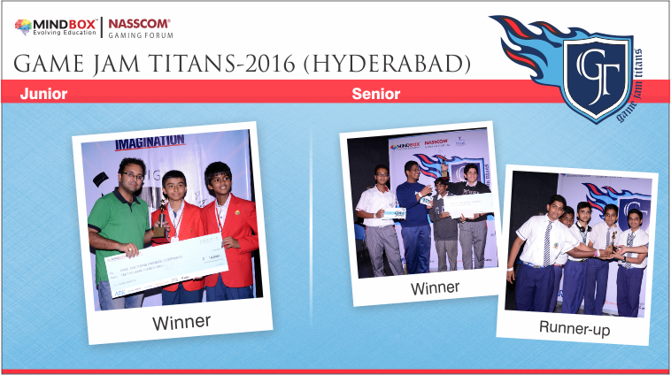 GJT-2016 Winners Hyderabad