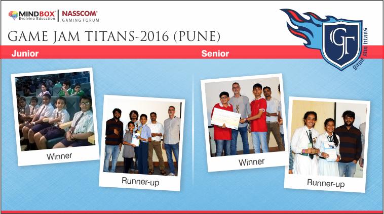GJT-2016 Winners Pune
